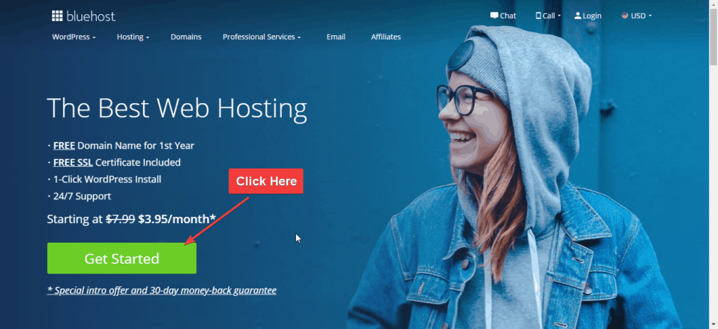bluehost hosting how to start a blog in 2021