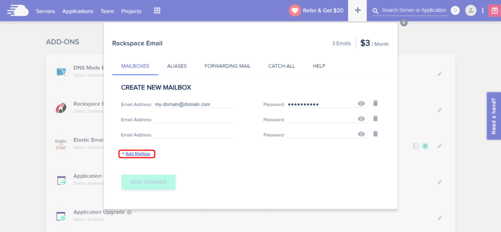 cloudways email hosting
