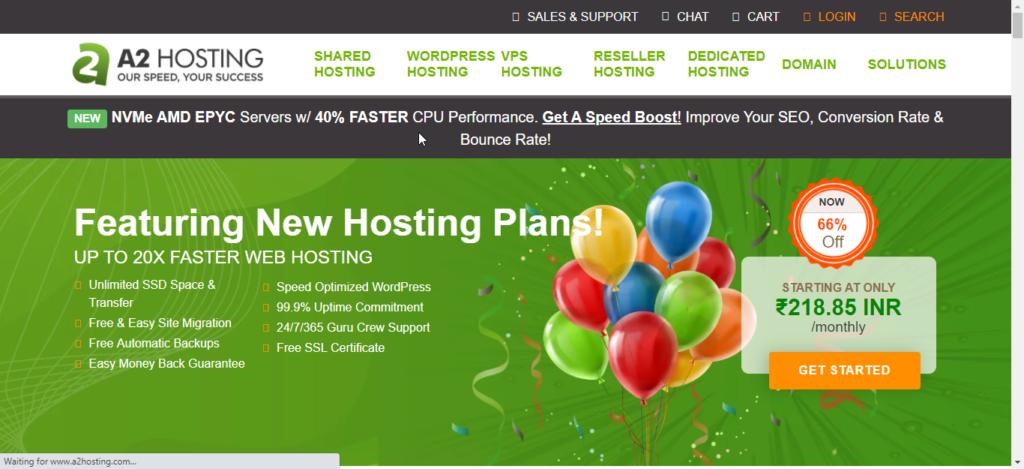 a2hosting hosting