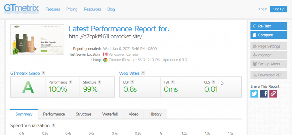 rocket speed with woocommerce