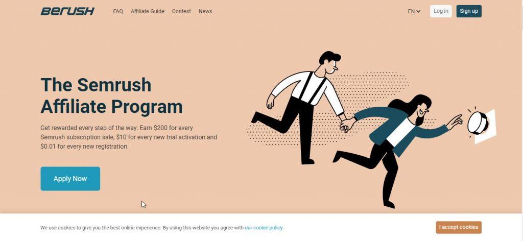 semrush new affiliate program